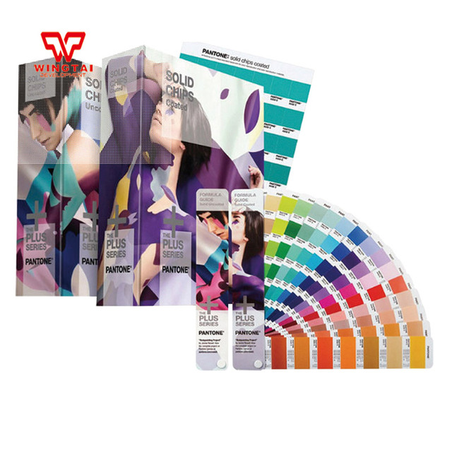 4 Books Pantone Formula Guide 1867 Kinds Of Pantone Color Guide