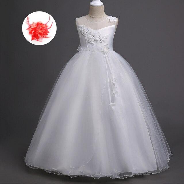 Sleeveless Nette Kinder Kleidung Prinzessin Hochzeit Kleider ...