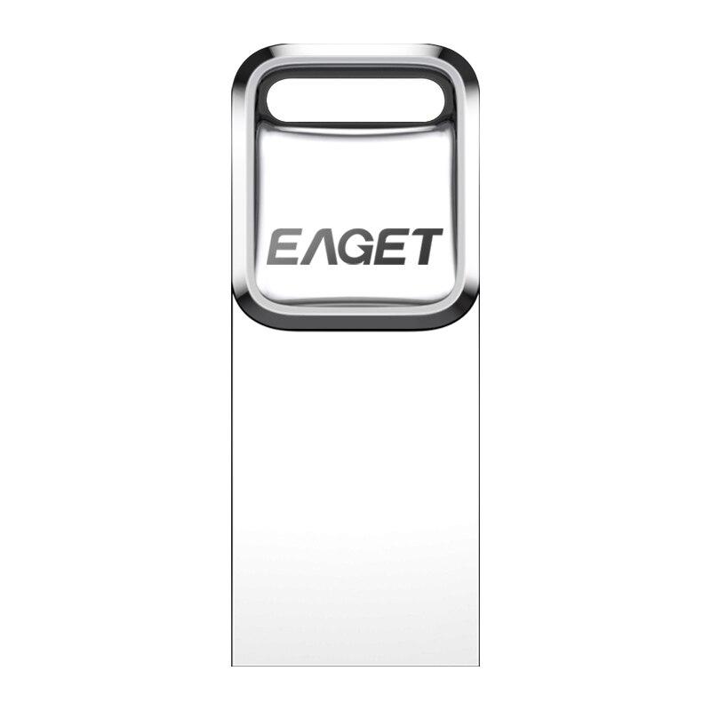 EAGET U1 USB Flash Drive, 32GB Metal Waterproof Pendrive USB Memory Stick 16GB Pen Drive Real Capacity USB Flash U Disk