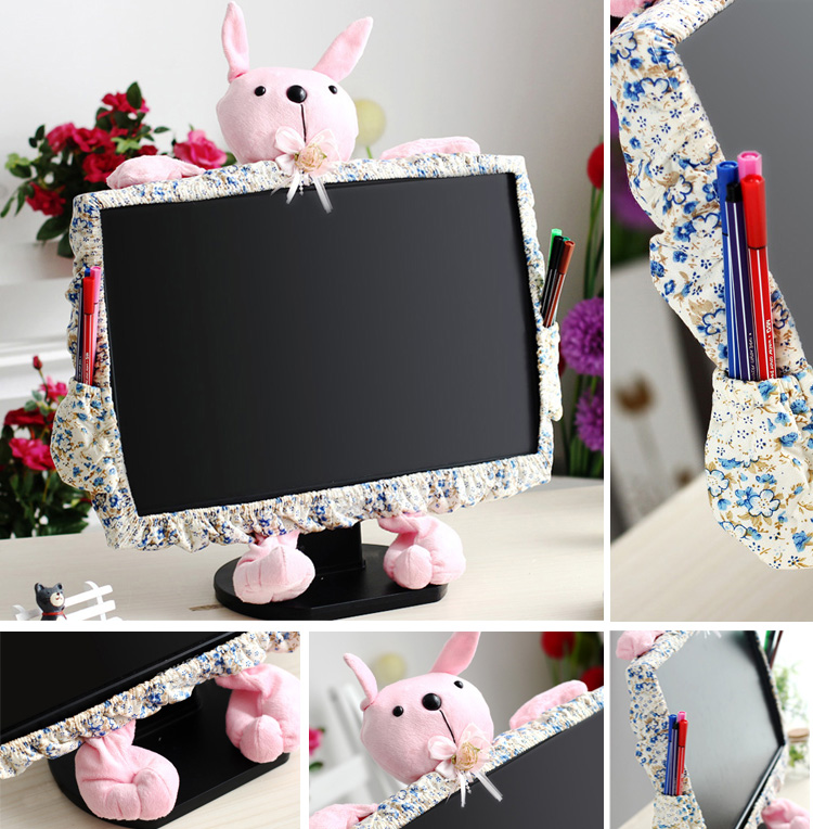 Aliexpress Desktop Cover Dust Computer Sets Lcd Monitor Cartoon Rabbit From Reliable Suppliers On Luyisi Liqi