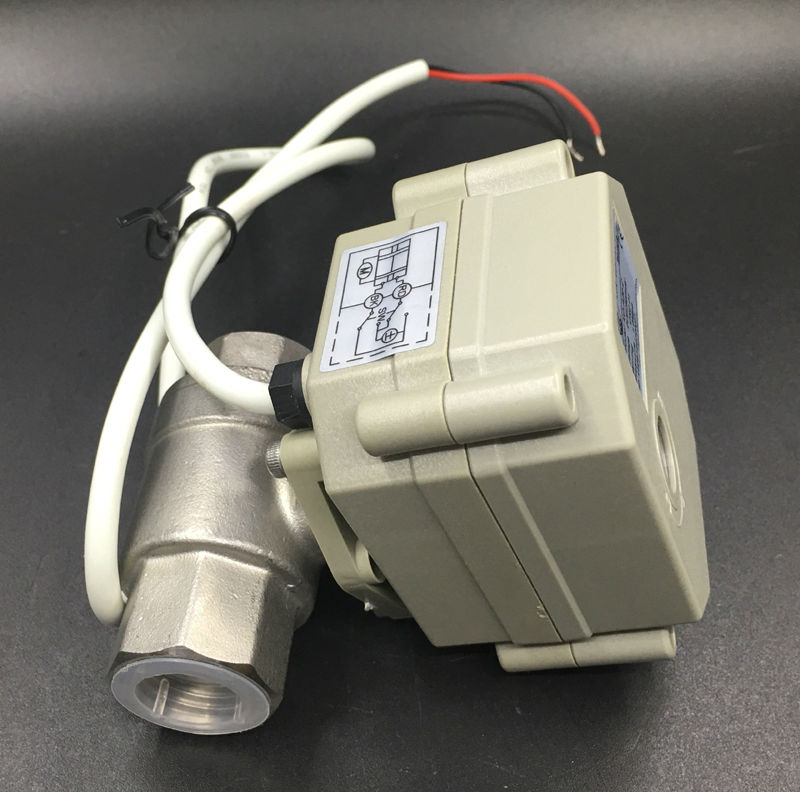 Image 4 - TFM15 S2 C, New 2 Way SS304 1/2'' DN15 Proportional Valve 0 5V,0 10V or 4 20mA DC9V 24V 5 Wires For Water Modulating Control-in Valve from Home Improvement