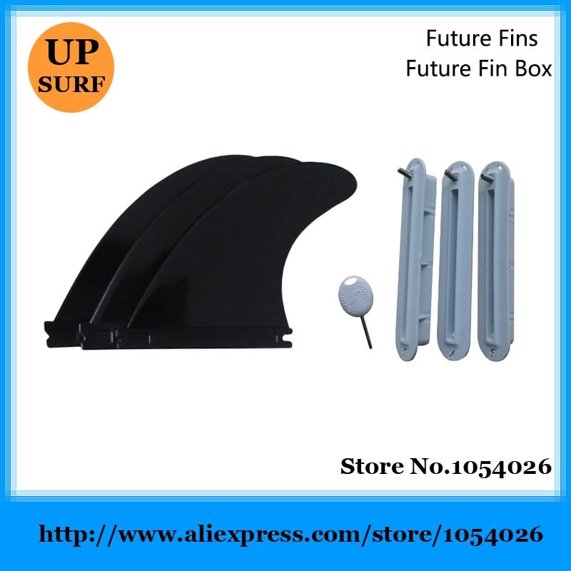 SUP Future Fin plastike G5 Fins dhe Fusë të Ardhshme të Futjes së - Sporte ujore