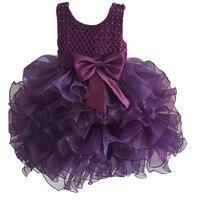 Bé Gái Christening Phép Rửa Gowns Chính Thức Đầm Ren Toddler Girl Wedding Dresses Birthday Bên Tutu Váy Trẻ Em Quần Áo