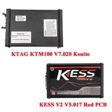 Firmware KESS V2 K-Suite V5.017 Plus V7.020 Mestre Versão KTAG Ferramenta EEPROM Chiptunning
