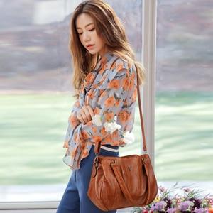 Image 5 - 2019 Retroผู้หญิงกระเป๋าถือ3ชั้นกระเป๋าหญิงMessengerกระเป๋าผู้หญิงหรูหรากระเป๋าหนังแฟชั่นCasual Lady Tote