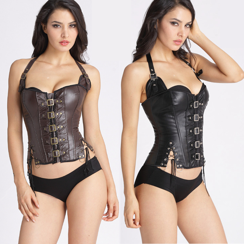 Corset   Top Burlesque Clothing Gotico Steampunk   Corset     Bustier     Corsets   Tops For Women Bodyshaper Sexy   Bustier   and   Corset   Lace Up