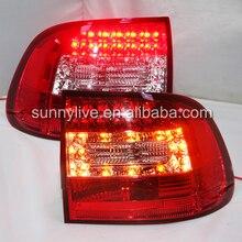 Для Porsche 03-07 Cayenne светодиодный задний светильник задний фонарь красный белый SN