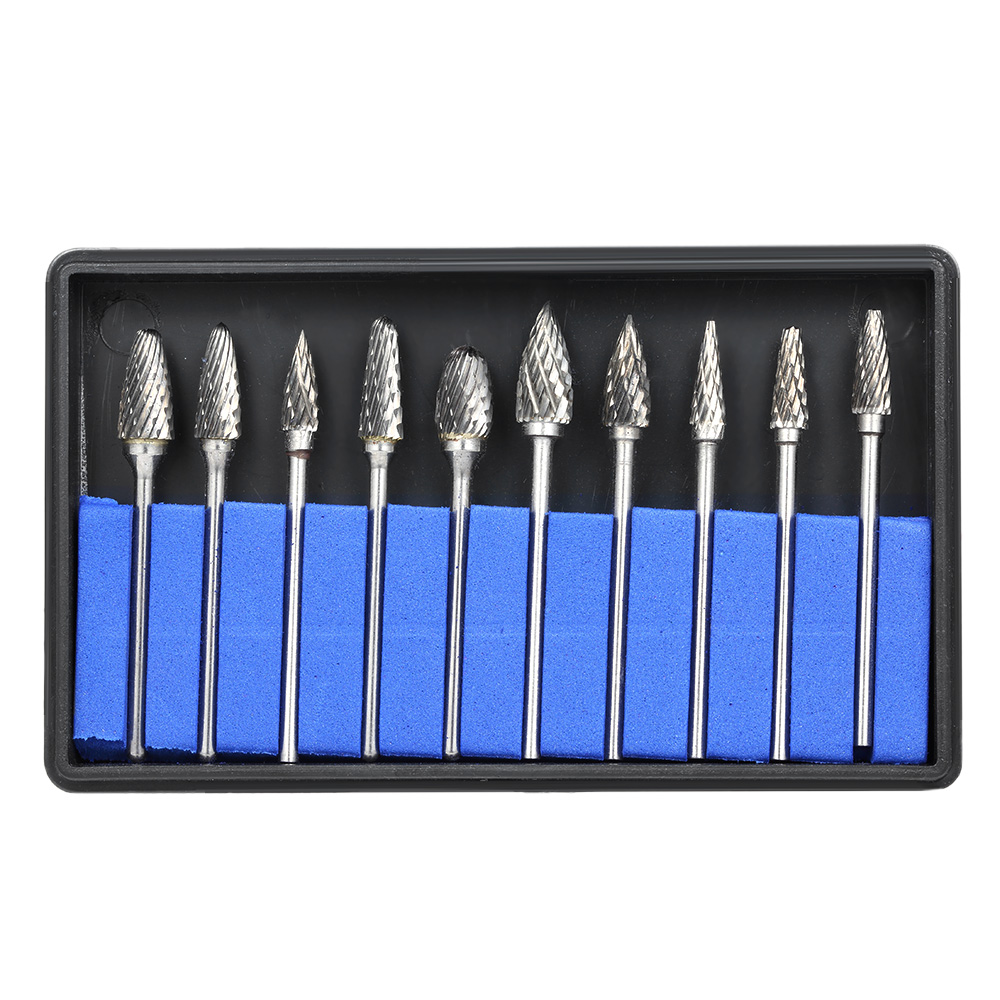 10pcs Dental Grinding Heads Tungsten Steel Teeth Polishing Burs Dental Lab Grinding Drill Grinder Dentistry Equipment  Burs10pcs Dental Grinding Heads Tungsten Steel Teeth Polishing Burs Dental Lab Grinding Drill Grinder Dentistry Equipment  Burs