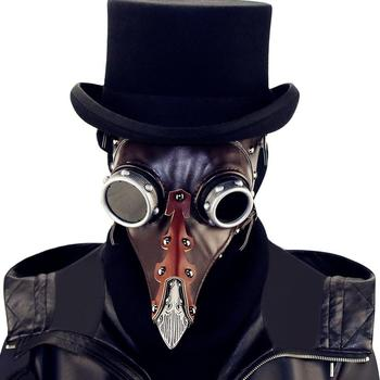 Steam Punk Halloween Plague Beak Doctor Mask Cosplay Mask Hot Sale drop shipping