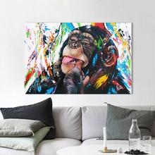 AAVV настенное Искусство Холст Картина колокольчик животное картины принты домашний Декор без рамки