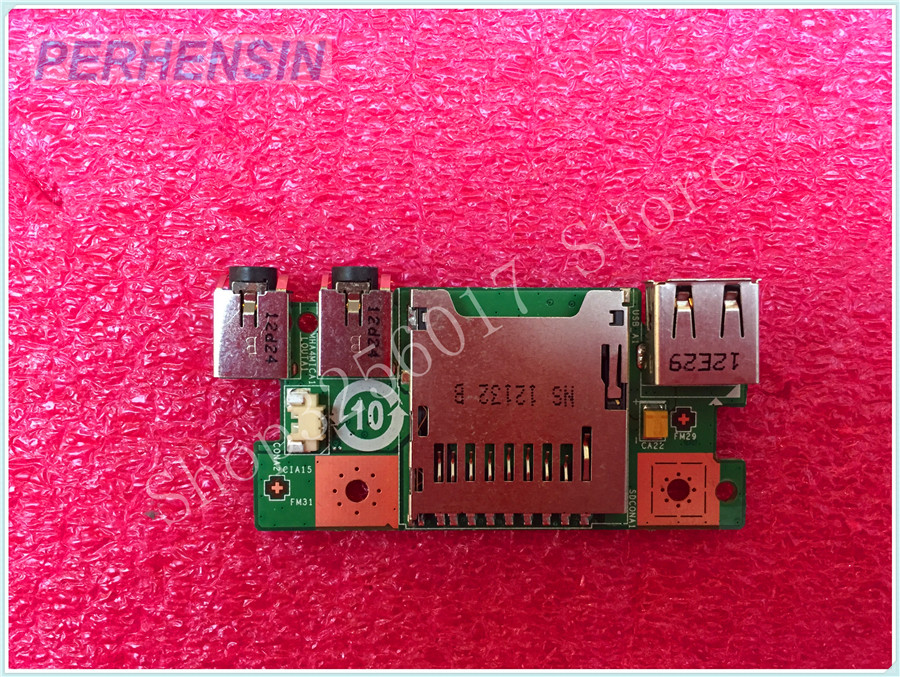 FOR MSI GE40 X460DX USB AUDIO SD READER BOARD MS-1491A MS-1491 ssk scrm 060 multi in one usb 2 0 card reader for sd ms micro sd tf white