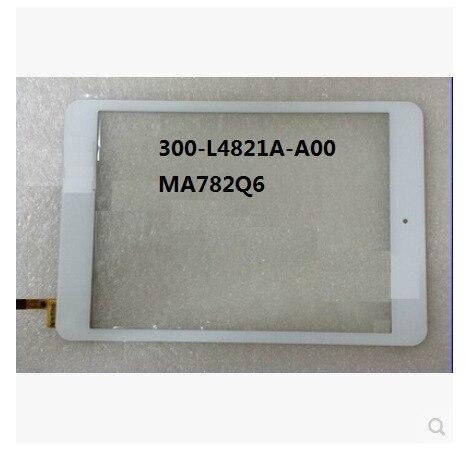 Новый 7.9 дюйм(ов) tablet емкостный сенсорный экран 300-L4821A-A00 MA782Q6 белый бесплатная доставка