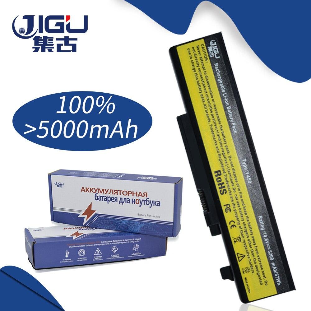 JIGU 5200MAH Laptop Battery 55Y2054 L08L6D13 L08O6D13 L08S6D13 Y450 20020 4189 For Lenovo IdeaPad Y450 Y450A Y550 Y550A Y450G