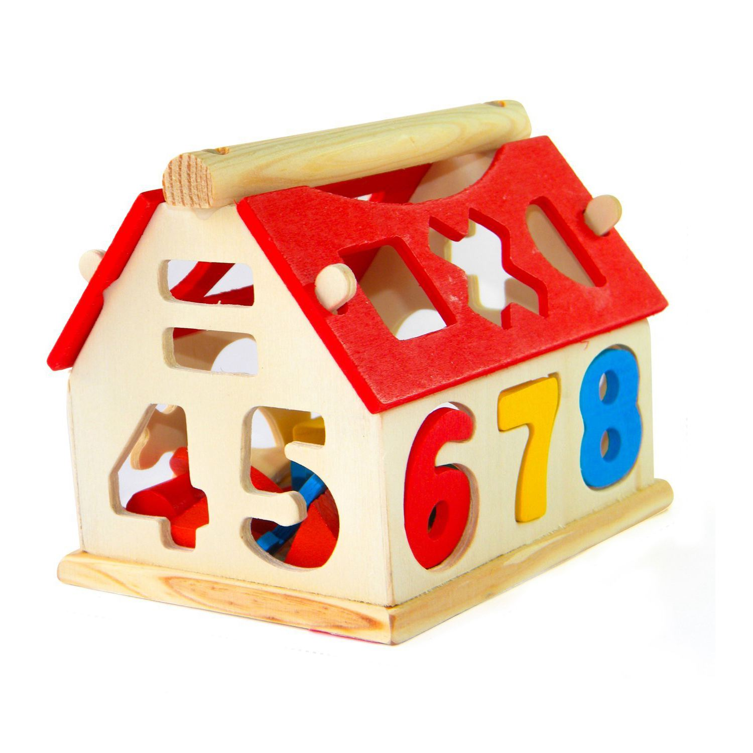 HOT SALE Children digital house small digital house smart house cute digital pair of touch early educational toys