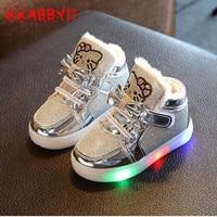 KKABBYII New Spring Autumn Winter Children S Sneakers Kids Shoe Chaussure Enfant Hello Kitty Girls Shoe