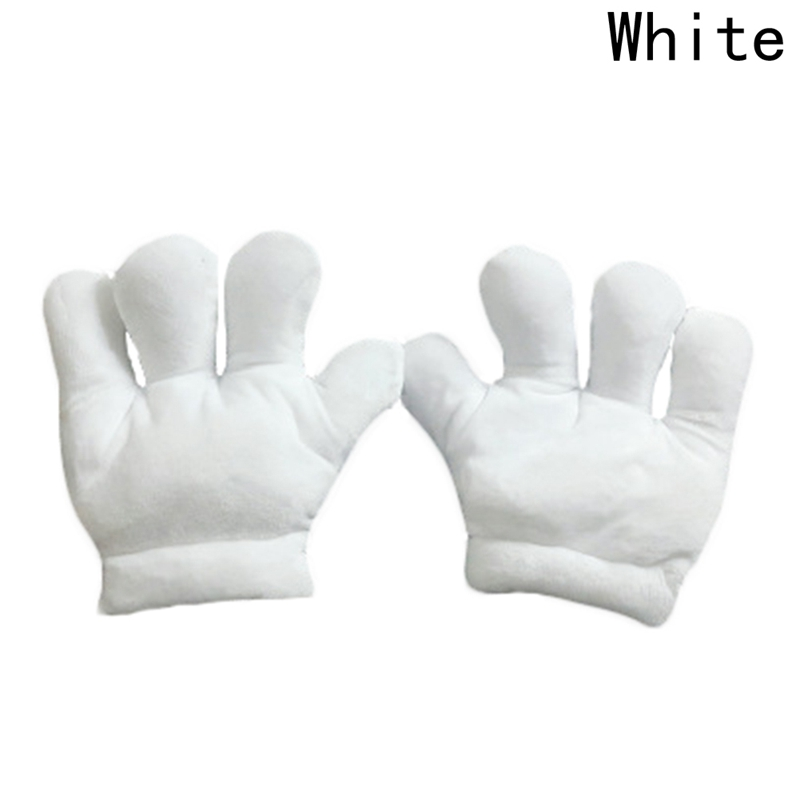 2018 New Fashion Large claws white Plush Toys perform Performance prop Kids Lovely Gloves Children Adults Soft Funny Toy Gift