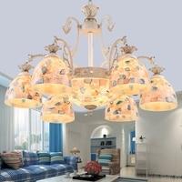 Nordic retro Chandeliers Modern crysal Chandelier ceiling for living room kitchen hanging Light Fixture Para Sala Art lighting