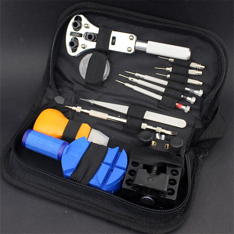 13 Piece/set  Watch Repair Tool Kit Case Opener