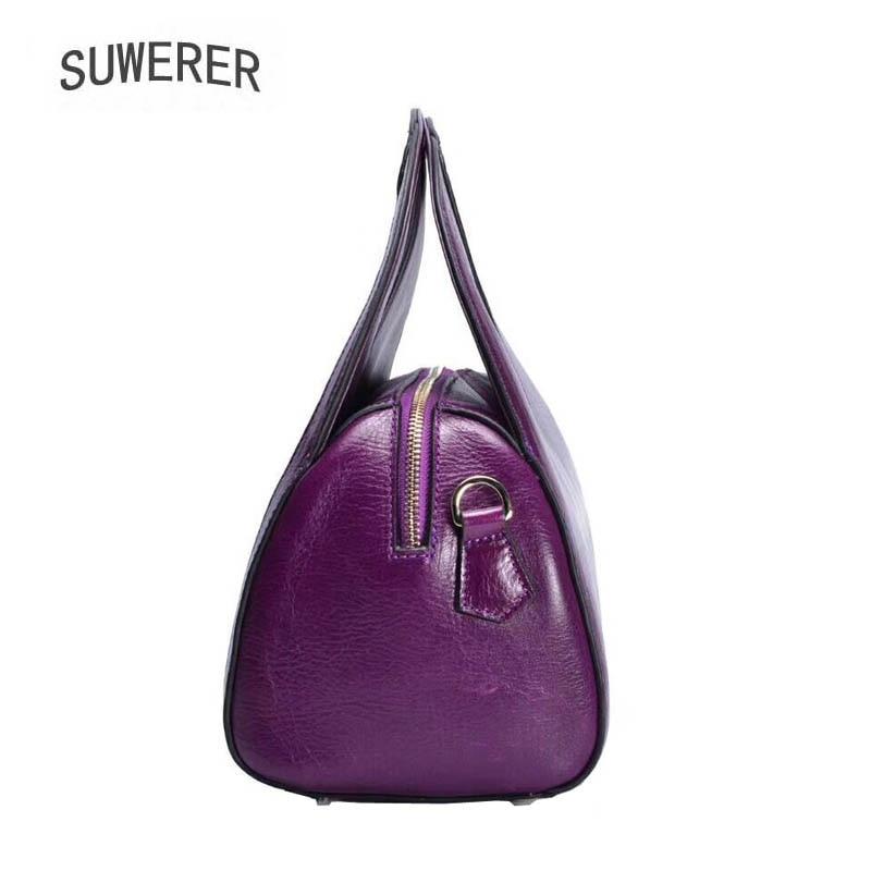 Les Nouveau Fourre Art Cuir Véritable Pour Femmes Red À En Sacs 2019 Luxe Concepteur Main De purple Gaufrage tout F0FqwZX