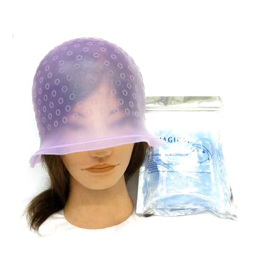Slicone Hair Dyeing Tool Diseño profesional Capa para teñir el cabello en material duradero Reciclar Uso Capa de teñido de cabello Pick S-989