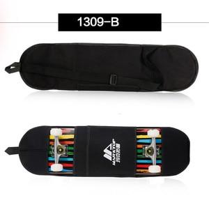 """Image 5 - Nuovo Nero di Skateboard Borsa Per Il Trasporto 4 Ruote di Skateboard Sacchetto di 31 """"x 8"""" di Skateboard Doppio Rocker Zaino"""