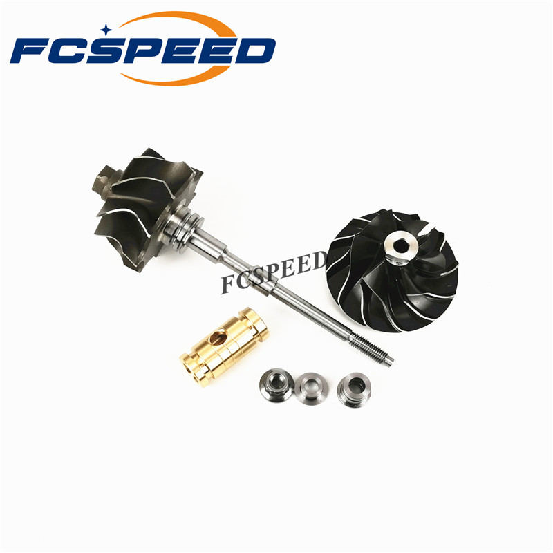 Turbocharger shaft and wheel GT1749V 713673 454232 2 454232 6 Turbo rotor for Audi Ford Seat