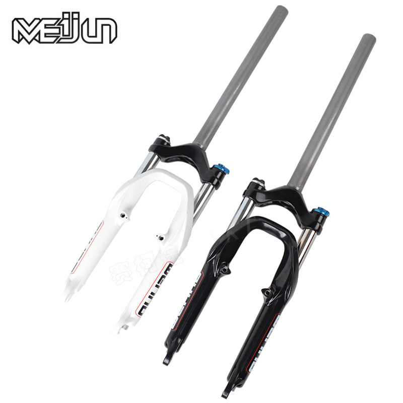 MEIJUN  20 Inch BMX Folding Bikes Bicycles Damping Shock Absorbers bicycle Front Fork Ultra long Head Post Parts d09 aluminum alloy bicycle cnc front fork washer blue white 28 6mm