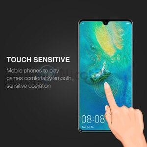 Image 4 - Nicotd 2.5D 9 H Premium Gehärtetem Glas Für Huawei Mate 20 6,53 zoll Screen Protector Gehärtetem schutz film Für Huawei mate 20