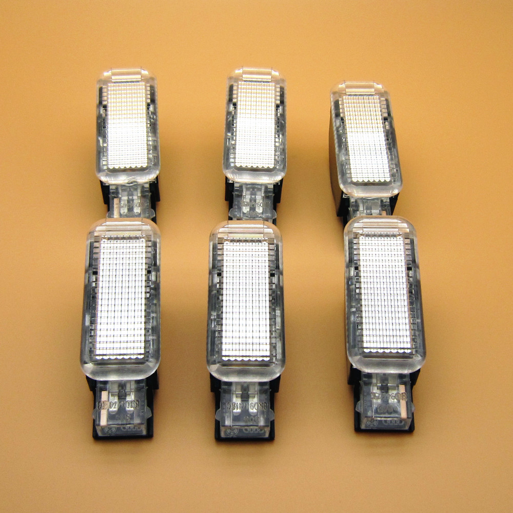 oem car parts 6pieces set new door warning lights for a3 a4 a5 a6 a7 a8 q3 q5 8kd 947 415c. Black Bedroom Furniture Sets. Home Design Ideas