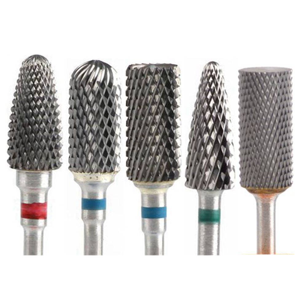Tungsten Carbide Nail Drill Bits Milling Cutters For Manicure Electric Nail Drill Machine Accessories Nail Cutter For Pedicure