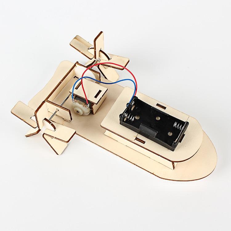 Pequeña tecnología DIY Ship Science Experiment Juguete educativo - Juguetes de construcción - foto 2