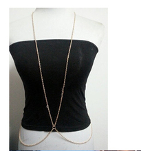 O Word Chain One Big Chain Necklace