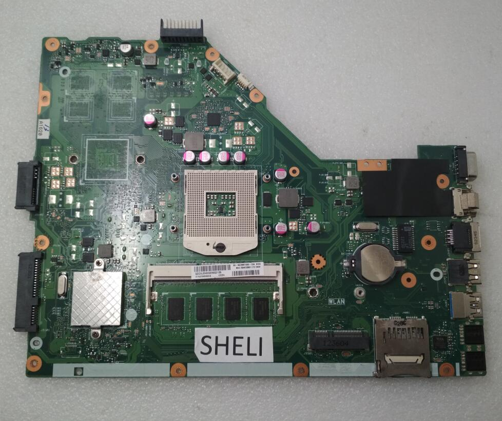 SHELI pour ASUS X55C X55VD carte mère 2 GB REV 2.1/REV 2.2 60-N0OMB1100