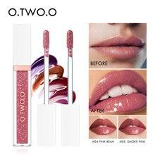 O.TWO.O 7 Colors Mirror Glass Lip Gloss Moisturizing Light Gel No Sticky Shimmer