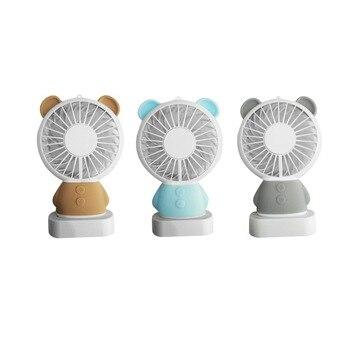 Portable Bladeless Fan AirFlow Cooling Fan Mute Dedicated Leafless Home Office Desk Air Cooler Children Safe Summer Fan