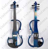 Новый Синий 5 строка 4/4 Электрический Скрипки молчат замечательный тон Любой цвет