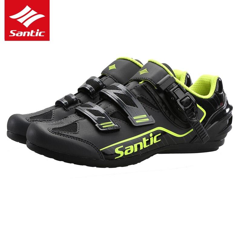 Santic велосипедная обувь новый дизайн Professional Мужская MTB шоссейная велосипедная обувь резиновая нескользящая велосипедная Обувь Zapatillas Ciclismo