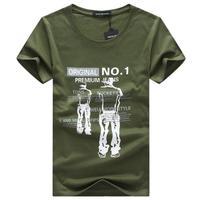3 D Short Sleeve 100 Cotton Slim T Shirt Casual Fashion T Shirt Quality Famous Brand