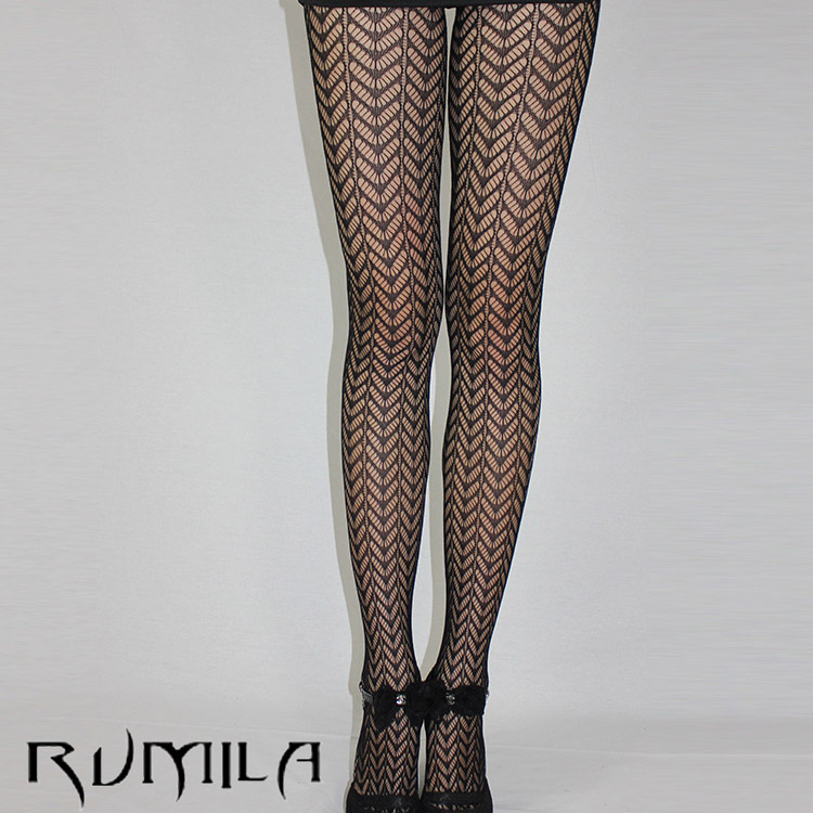Fashion Womens Lady Girls Black Sexy Fishnet Pattern Jacquard Stockings Pantyhose Tights  Skull Woman 1pcs Dww41