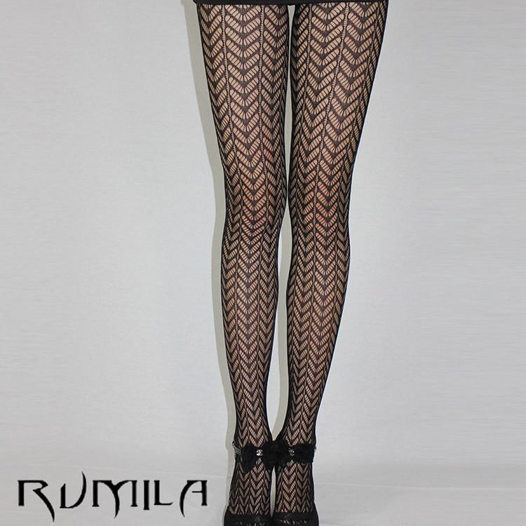 Fashion Womens Lady Girls Black Sexy Fishnet Pattern Jacquard Stockings Pantyhose Tights  Skull Woman 1pcs Dww41
