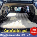 DHL Free Shipping SUV Car Back Seat Cover Car Air Mattress Travel Bed Inflatable Mattress Air Bed  Inflatable Car Bed