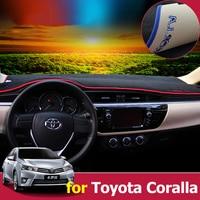 Car Dashboard Cover Dash Mat Pad Sun Shade Dash Board Cover Carpet For Toyota Corolla 2006