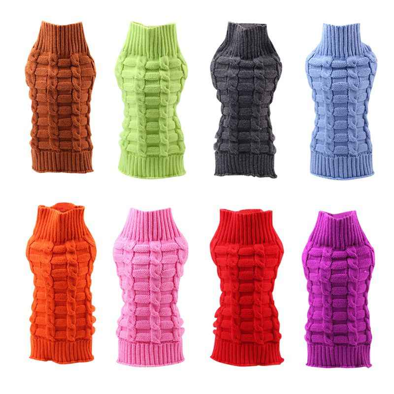 4073bfed6e88 Detail Feedback Questions about Pet Autumn Winter Faux Wool Warm Sweater  Pet Sweater Cute Pet Clothes Dog Knit Turtleneck Clothes Winter Pet  Supplies on ...