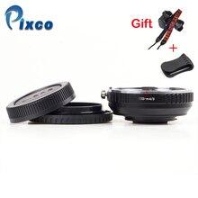 Pixco EOS M 4/3 焦点減速絞り構築キヤノンefマウントレンズマイクロ 4/3 + レンズキャップu クリップ + カメラストラップ