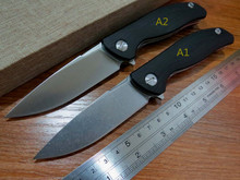 5pcs/lot High quality Efeng F3 Camping Folding Knife D2 Blade G10 Handle Pocket Tactical Knife Outdoor  Knives+ Black model