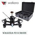 F210 Walkera DEVO7 Дистанционного Управления Вертолет FPV Drone с камера 800TVL с Алюминиевой Случае VS DJI Phantom 3 Бесплатно доставка