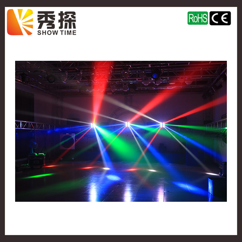 Freeshipping 8X10W Mini Led Spider Light good quailty LED RGBW Beam Moving Head Light club dj disco stage lighting KTV Bar 2017 mini led spider 8x10w rgbw color led moving head beam light dmx stage light party club dj disco lighting holiday lights