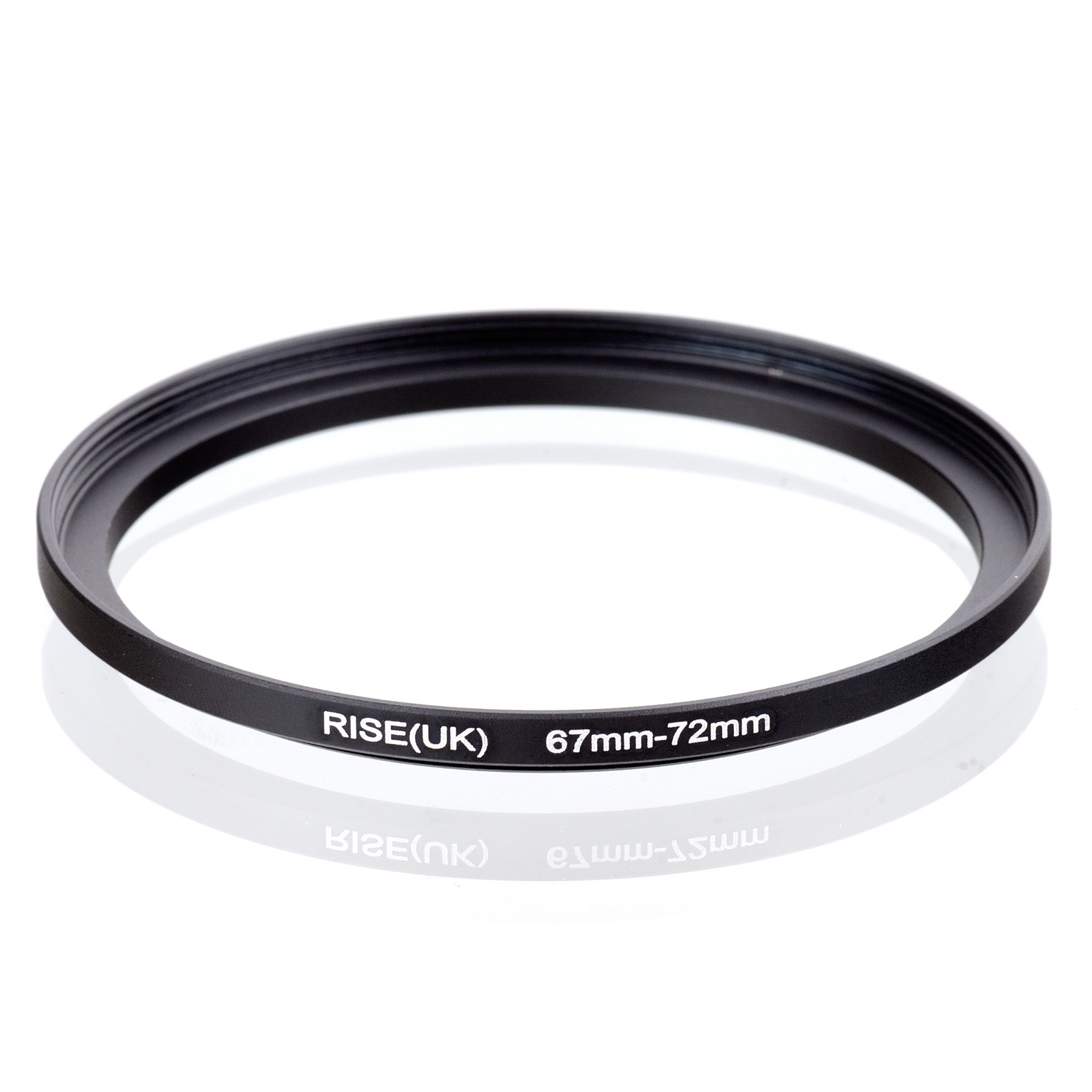 RISE(UK) 67mm-72mm 67-72 Mm 67 To 72 Step Up Filter Ring Adapter Black