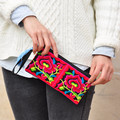 2015 New National Ethnic Embroidery Purse Embroidered  small Clutch bag Mobile Phone Coin bags