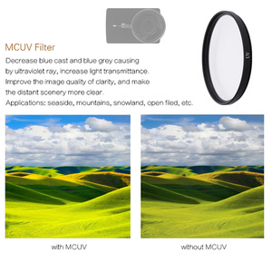 Image 4 - FOTOFLY مرشح كاميرا الحركة ، لـ Yi 4K Lite UV CPL ND 2 4 8 ، عدسات واقية لـ Xiao Yi 4K Plus ، ملحقات الكاميرا الرياضية